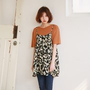 Herb flare blouse
