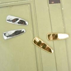호일삼각 골드실버 똑딱핀 커버_50mm(5EA 단위 판매)