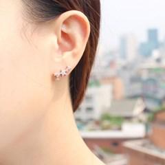 [925 실버]작은별 귀걸이=ER213
