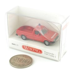 1/87 Volkswagen Caddy I with Portable Pump (WI601238RE) 소방차
