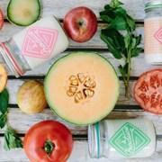 Produce candles  cilantro