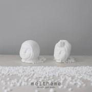 [meltheme]wolf - ceramic ornament