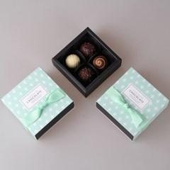 초콜릿 4구 상자 (4set)-5종