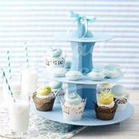 컵케이크스탠드(원형/블루) no.A0040598