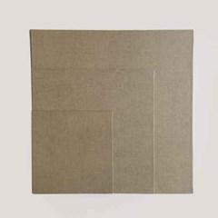 [클레르퐁텐] 보드캔버스 정사각형-카키 / 크기선택