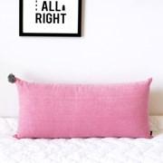 Pink Pompom Big Cushion