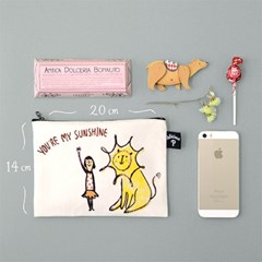 You're my sunshine: Small Pouch