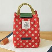 누빔 보온보냉백 런치백 Cooler Lunch Bag