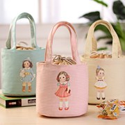 Baby doll lunch bag