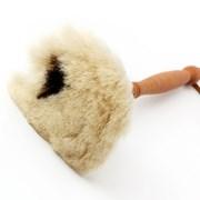 레데커 먼지떨이 브러쉬 하얀솔(검은점) 35cm