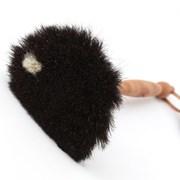 레데커 먼지떨이 브러쉬 검정솔(하얀점) 35cm