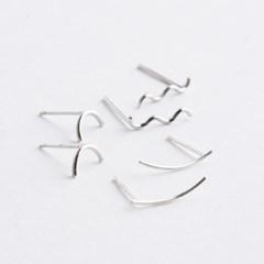 Crescent Moon Earrings 그믐달 귀걸이