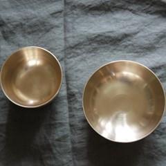 유기 밥&국 그릇