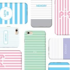 [아이폰] 더슬림 스트라이프 memory
