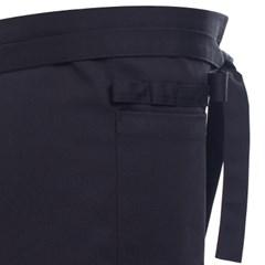 #AA1318  waist medium apron black
