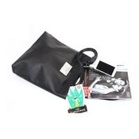 Rlovestyle 레더 숄더백- black