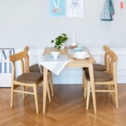 비아K 4인 식탁세트 / 의자