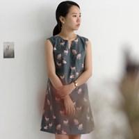 NSCR/ 1마/ 감성북유럽] Love Bambi Pattern cotton