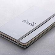 [로디아] 뷰티크 웹노트 A6 (실버) 줄지