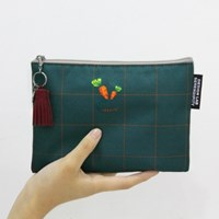 D.LAB NY POUCH - 당근M