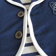 줄무늬 티셔츠 조끼 우주복(0-18개월) 202774_(901981069)
