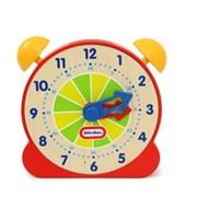 리늘타익스 원목 시계공부 (레드&블루)