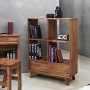 [디모토] Dmoto W15-원목 800 책장겸 장식장