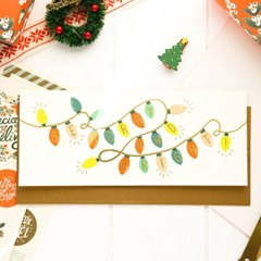 Be Merry and Bright Lights Card