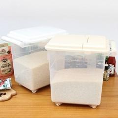 네이쳐 손잡이 다용도 쌀통 11kg