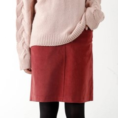 corduroy banding skirt