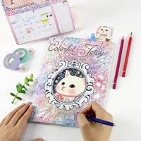 Colorful Jetoy Schedule note