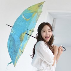 [Fromb 프롬비] 월드맵 자동 장우산_(1128999)
