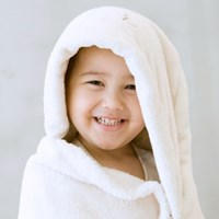 [밀리언달러베이비]베이비 후드타올 토끼(목욕&비치타올&담요)