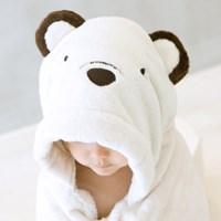 [밀리언달러베이비]베이비 후드타올 3종세트(목욕&비치타올&담요)