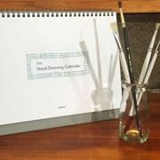 2016 Mellow Hand Drawing Calendar 드로잉 캘린더