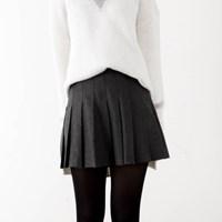 wool tenis skirt (S,M)