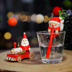 크리스마스 산타 새싹키우기