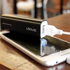 손바닥 스마트폰 휴대용배터리(2200mAh/5핀케이블포함)