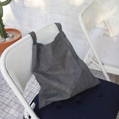 Easy Bag Square (BLACK STRIPE)