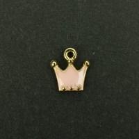 골드 왕관 금속장식_9mm(10EA)
