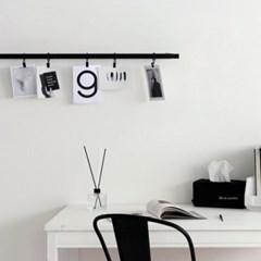 [Deco]BLACK CLIP CURTAIN RING 10개 1세트