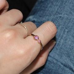 은하수 자수정 반지(2월탄생석)milky way amethyst ring