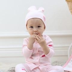 [필리앤임프스] 필리 신생아 모자 무형광 100% 면