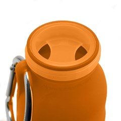 [공식수입정품]부비바틀 실리콘물병450ml(오렌지)