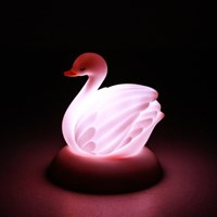 Swan Bath Light - PK (핑크)