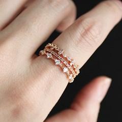 로즈 피에로 3타입 반지(3types)rose pierrot 3type ring