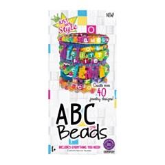 DIY 키트 ABC 비즈 구슬 팔찌만들기