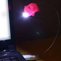 돼지코 USB LED 라이트