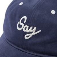SAY BALL CAP - NAVY_(773251)