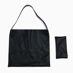 Simple big shoulder bag